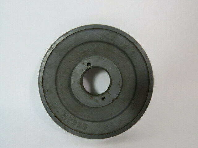"Browning BK65H Fixed Pitch Sheave Pulley 1-1/2""ID 1 Groove 3.25""OD 4L/5L  USED"