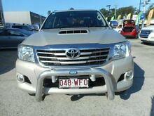 2012 Toyota Hilux KUN26R MY12 SR5 Double Cab Gold 4 Speed Automatic Utility Alexandra Headland Maroochydore Area Preview