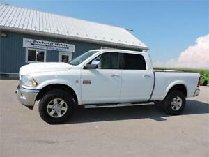 2010 RAM 2500 LARAMIE, DIESEL, 4X4, SUNROOF, NAVIGATION, BACK-UP
