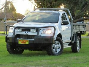 2012 Holden Colorado RG MY13 DX White 5 Speed Manual Cab Chassis Blair Athol Port Adelaide Area Preview