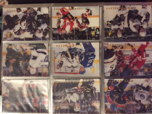 1996/97 McDonalds Pinnacle hockey card set