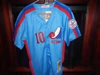 **BRAND NEW- EMBROIDERED -  MONTREAL EXPOS- MEDIUM $40ea.