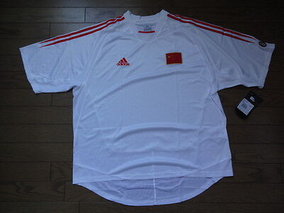 China 100% Original Soccer Football Jersey Shirt XL 2004/05 Home Extremely Rare image