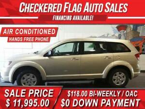 2011 Dodge Journey-HEATED SEATS- HANDS FREE PHONE-ONLY 86,400KM!