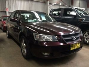 2005 Hyundai Sonata NF Elite Red 5 Speed Sequential Auto Sedan Macquarie Hills Lake Macquarie Area Preview