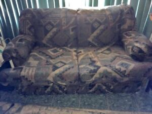 Love seat couch and chair set great for apartment