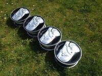 "INTRA KOALA 13 "" 4x100 5.5J classic Alloy wheels, Original, MINT, SHOW WHEELS not borbet, AEZ tm"