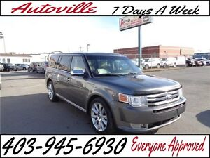 2010 Ford Flex Limited 6 PASSENGER BACK-UP CAM EVERYONE APPROVED