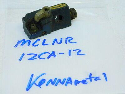 Used Kennametal Carbide Insert Indexable Tool Cartridge Mclnr 12ca-12