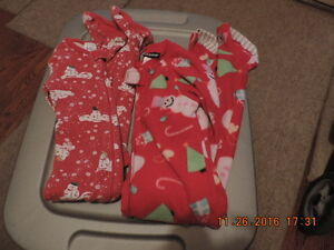 Size 3T Winter/Holiday PJ's & Sleepers/Onesies London Ontario image 3