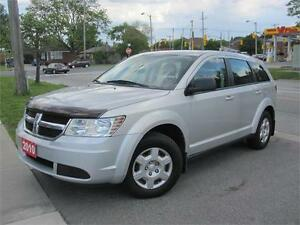 2010 Dodge Journey SE 4 Cyl, 7 Passenger Seating, Sold Certified