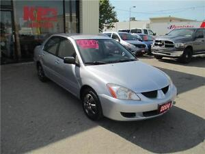 2004 MITSUBISHI LANCER ES  WOW ONLY $2650 CERTIFIED AND E TESTED