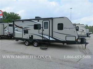 PASSPORT 2250RB ** SUV TOWABLE ** LARGE OUTSIDE KITCHEN **