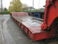 Grafton Low Loading Trailer 1998 Heavy Duty 4 Axle High Neck Outriggers Ideal Export