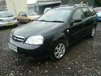 CHEVROLET LACETTI 2009 REG AUTOMATIC LOW MILES 70K