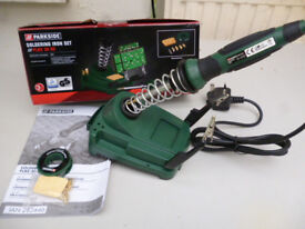 SOLDERING STATION 30 WATT, WITH ACCESSORIES (NEW)