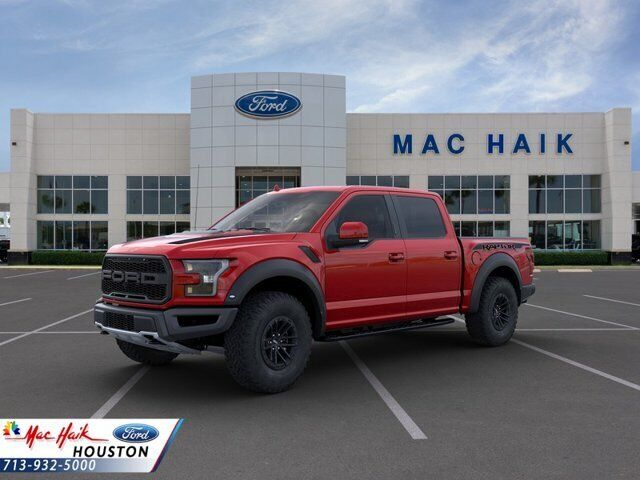 2020 Ford F-150 Raptor 3350 Miles Rapid Red Tinted Crew Cab Pickup Twin Turbo Re