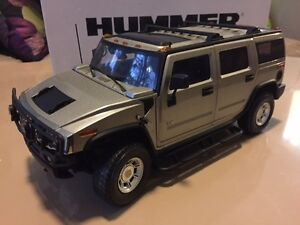 RARE 1:18 SCALE PEWTER TAUPE H2 HUMMER HIGHWAY 61 NEW W BOX Windsor Region Ontario image 1