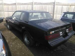 1987 Buick Grand National parts wanted