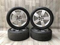 """Genuine 17"""" Audi TT Alloys and Tyres. Suit Audi TT 5x112"""