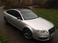 "2006 AUDI A6 SLINE 2.7 Tdi 19"" Black edition Rotar Alloy wheels"