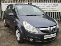 VAUXHALL CORSA 1.2i 16v 85PS 5DR ENERGY (A/C) 2010 (60) ONLY 50K FSH 6 X STAMPS!