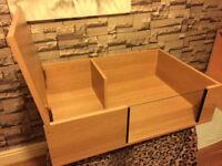 brand new 3ftx2ft tortoise table in lisa oak