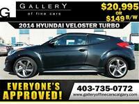 2014 Hyundai Veloster TURBO $149 BI-WEEKLY APPLY NOW DRIVE NOW