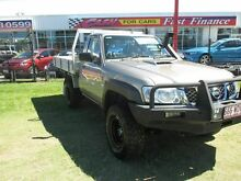 2008 Nissan Patrol GU 6 MY08 DX Gold 5 Speed Manual Cab Chassis Kippa-ring Redcliffe Area Preview