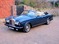 1982 Rolls Royce Corniche Convertible