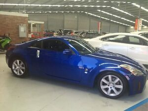 2003 Nissan 350Z Z33 Touring Blue 5 Speed Sports Automatic Coupe Maryville Newcastle Area Preview