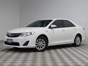 2014 Toyota Camry AVV50R Hybrid H White Continuous Variable Sedan East Rockingham Rockingham Area Preview