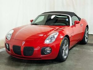 2009 Pontiac Solstice GXP RWD Turbo Convertible MT w/ Leather, A