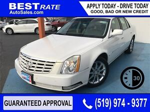 CADILLAC DTS - APPROVED IN 30 MINUTES! - ANY CREDIT LOANS