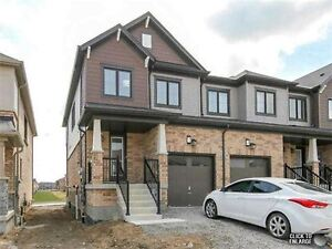 New End Unit New Town home in Stoney Creek!