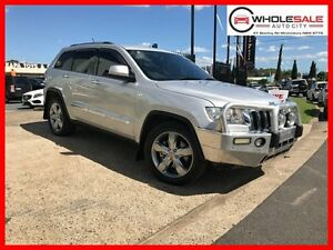 2011 Jeep Grand Cherokee WK Limited Wagon 5dr Spts Auto 5sp 4x4 3.0DT [MY11] Silver Sports Automatic Minchinbury Blacktown Area Preview