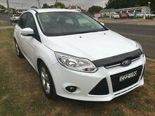 2012 Ford Focus LW Trend Frozen White 5 Speed Manual Hatchback Young Young Area Preview