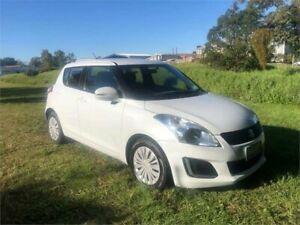 2014 Suzuki Swift FZ MY14 GL White 4 Speed Automatic Hatchback Yeerongpilly Brisbane South West Preview
