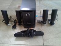 Dell Home Theater Speaker System MMS 5650 Surround Sound