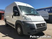 2010 Fiat Ducato Maxi DCi120 MWB White Manual Woodville Park Charles Sturt Area Preview