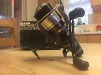Boxed Shimano 8000XTEA Fishing Reel With New 15lb Korda Line - Has Paperwork-Only £90