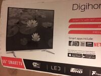 "Digihome TV 55304UHDSM 55"" 4K Ultra HD Smart LED TV WiFi Freeview HD HDMI USB Ports >>CHEAP<<"