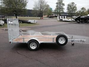 "New 2017 K-Trail 68"" x 10.25' Galvanized Utility Trailer"