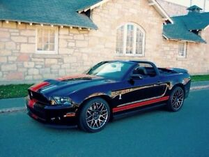 2011 Ford Mustang Shelby GT500 Convertible - SVT PP (Perf Pkg)