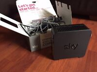 Sky Router: Boxed & All Cables