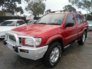 1999 Nissan Pathfinder TI (4x4) Maroon 4 Speed Automatic 4x4 Wagon Maidstone Maribyrnong Area Preview