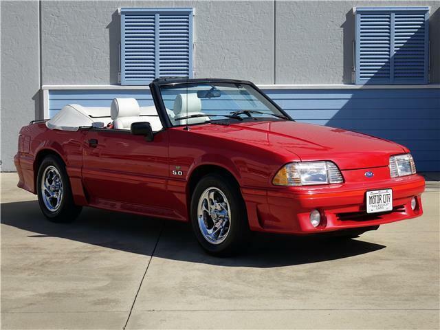 1989 Ford Mustang GT - 7,100 Original Miles -