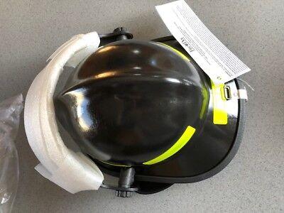 Black Standar Fire Dex 911 Helmet New  4 Visor 911h714 165137