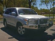 2015 Toyota Landcruiser VDJ200R MY13 Sahara Silver 6 Speed Sports Automatic Wagon Hillcrest Port Adelaide Area Preview