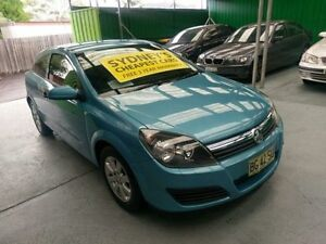 2005 Holden Astra AH MY06 CD Blue 4 Speed Automatic Coupe Five Dock Canada Bay Area Preview